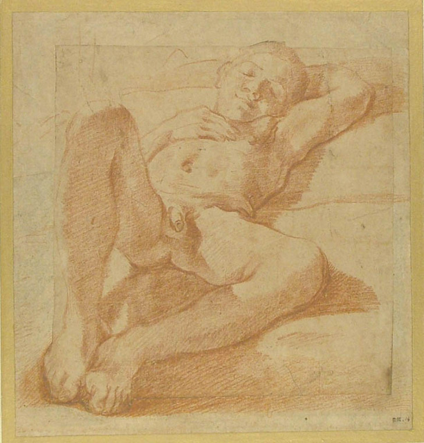 4 1 ludovico carracci nude boy sleeping ca 1588 1590